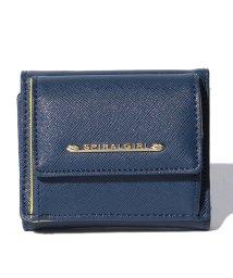 SPIRALGIRL/【SPIRALGIRLスパイラルガール】シンプルライン3つ折り財布/500660145