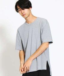MYSELFABAHOUSE/ハイゲージコットンニットTシャツ/500668581