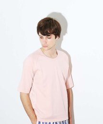 MYSELFABAHOUSE/ポンチメッシュクルーTシャツ/500668582