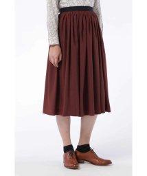 HUMAN WOMAN/タック刺繍スカート/500670229