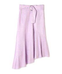 PROPORTION BODY DRESSING/《BLANCHIC》イレギュラースエードスカート/500670270