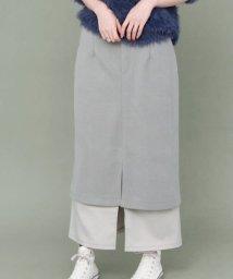 KBF/レイヤードスカート/500671005