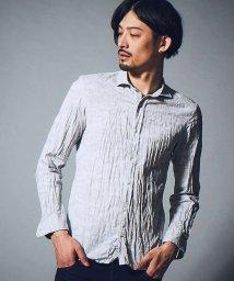 5351POURLESHOMMES/カモフラジャガード製品染めシャツ/500671632