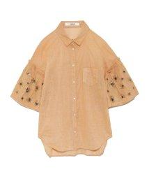 FURFUR/アニマルビーズシャツ/500671811