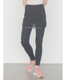 emmi yoga/【emmi yoga】メッシュスカートレイヤードレギンス/500672244
