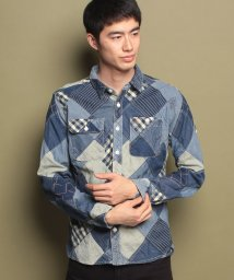 KRIFF MAYER/ダイヤキルトシャツ/500658257