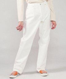 GALERIE VIE/ホワイトデニム 5ポケットパンツ/500672257