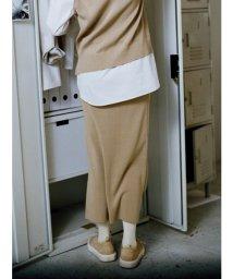 emmi atelier/【emmi atelier】バリエーションニットスカート/500672492