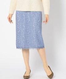 SHIPS WOMEN/Prefer SHIPS: レオパードレースタイトスカート/500678707