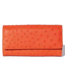 addy selection/【ostrich】オーストリッチ ハーフポイント かぶせ財布/500650250