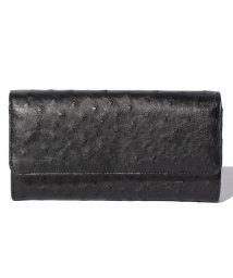 addy selection/【ostrich】オーストリッチ ハーフポイント かぶせ財布/500650257