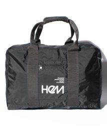 HeM/【HeM】ナイロンボストンバッグM TR-003-11/500650447