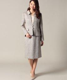 Leilian/ジャガードジャケット&スカート/500662522
