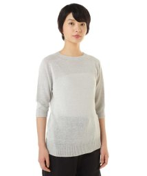 MARGARET HOWELL/LINEN COTTON JUMPER/500680788