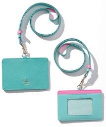 LANVIN en Bleu(BAG)/リュクサンブールカラー ID/ICカードホルダー/LB0004671