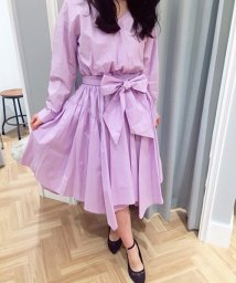 Noela/【セットアップ対応商品】ランダムヘムシャツスカート/500681596
