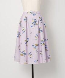 Noela/オリジナルスプリングフラワー柄スカート/500681597