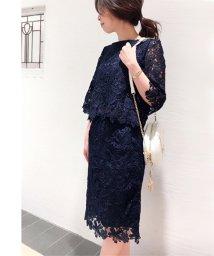 Noela/【セットアップ対応商品】カラーレースタイトスカート/500681599