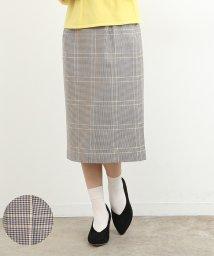 ROPE' PICNIC/カラーチェックAラインスカート/500682838