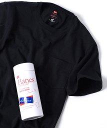 SHIPS JET BLUE/Hanes×SHIPS JET BLUE: 別注 Japan Fit PREMIUM ポケットTシャツ/500689348