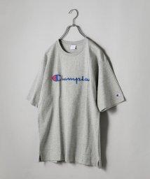 SHIPS JET BLUE/SHIPS JET BLUE×Champion: 別注 ヘビーウエイト リラックス 刺繍ロゴTシャツ/500690427