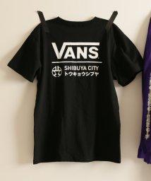 JOURNAL STANDARD/VANS×SHIBUYA LOGO S/S T-Shirt/別注 渋谷区×VANS/500690688
