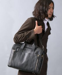 5351POURLESHOMMES/LEATHER BRIEFCASE / レザーブリーフケース/500684809