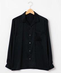 SHIPS JET BLUE/【MEN'S NON-NO 4月号P77掲載】SHIPS JET BLUE: オープンカラーソリッドシャツ/500691123