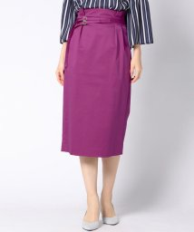 VICKY/【WEB別注カラーあり】ベルト付きタイトスカート/500689412