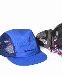 SHIPS JET BLUE/Champion×SHIPS JET BLUE: 別注 サイドメッシュ ロゴキャップ/500692579