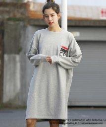 DOUBLE NAME/VISION別注ドロストワンピース/500692640