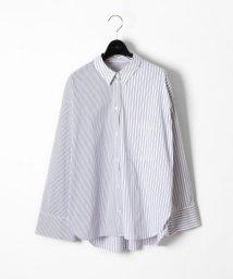 GRACE CONTINENTAL/ビッグサイズシャツ/500693870