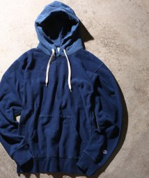 ADAM ET ROPE'/【Champion for ADAM ET ROPE' 】Exclusive Indigo Hoodie/500689730