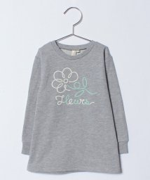 LAGOM/プリント裏毛チュニック/500681244