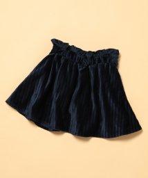 ROPE' PICNIC KIDS/【ROPE' PICNIC KIDS】ベロアプリーツスカート/500691437