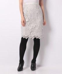 JUSGLITTY/カラーレーススカート/500650026