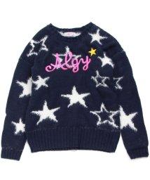 ALGY/星柄フェザーニット/500694374