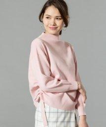 JIYU-KU /【洗える】ストリングビスコーススムース ニット/500700109