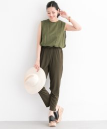 URBAN RESEARCH/【ROSSO】TUCKBLOUSEJUMPSUIT/500694693