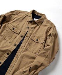 SHIPS JET BLUE/SHIPS JET BLUE: ミリタリー シャツジャケット/500700479