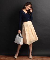 PROPORTION BODY DRESSING/エアメタリックサテンスカート/500700634