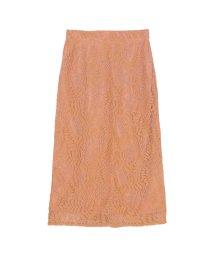 ur's/レースミドルタイトスカート/500700819