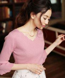 PROPORTION BODY DRESSING/★[MAGASEEK/d fashion限定]スカラニット/500701628