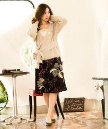 Millon Carats/フラワーモチーフスカート[DRESS/ドレス]/500698960