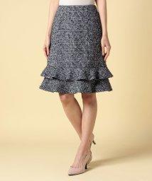 ELISA/【セットアップ対応商品】エリザロゴツイードスカート/500700139