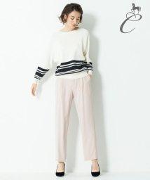 JIYU-KU /【Class Lounge】BACK SATIN BOTTOMS パンツ/500703426