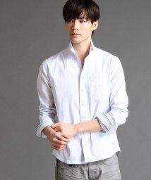 NICOLE CLUB FOR MEN/ドビーストレッチイタリアンカラー長袖シャ/500659276