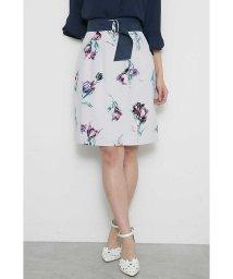 PROPORTION BODY DRESSING/◆ブラッシュチューリップサッシュ付スカート/500704022