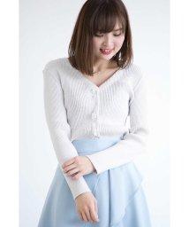 PROPORTION BODY DRESSING/【MAGASEEK/d fashion限定】ビジュースカラリブカーディガン/500704740
