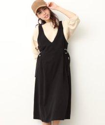 ViS/サイドベルトジャンパースカート/500704788